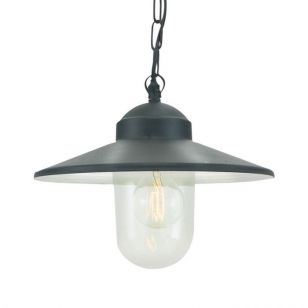 Norlys Karlstad Porch Pendant Light - Black