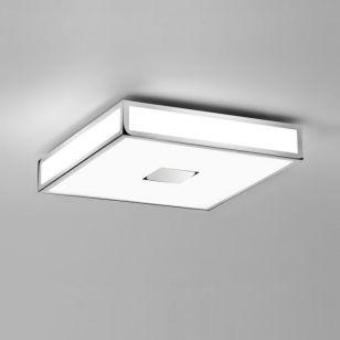 Astro Mashiko 400 Flush Ceiling Light - Polished Chrome