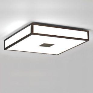 Astro Mashiko 400 Flush Ceiling Light - Bronze