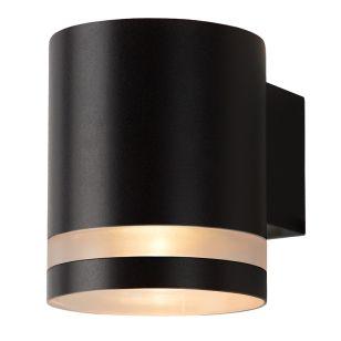 Lucide Basco LED Outdoor Wall Light - Black