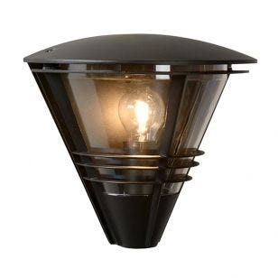 Lucide Livia Outdoor Wall Light - Black