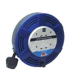 4 Socket 15M Extension Reel