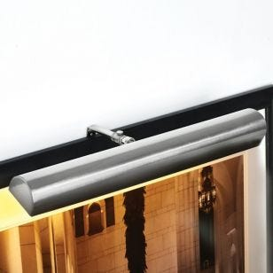 Ultimate LED Large Battery Operated Picture Light - Satin Nickel