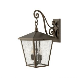 Elstead Trellis Large Outdoor Hanging Lantern Wall Light