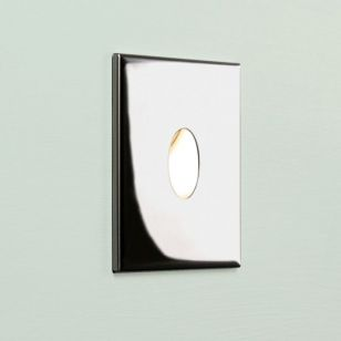 Astro Tango LED Recessed Wall Light - Polished Chrome