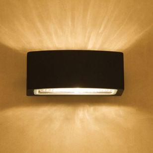 Edit Charlton Outdoor Up & Down Wall Light - Black