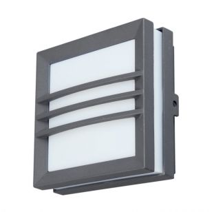 Lutec Mini Seine Bar LED Outdoor Wall Light - Graphite