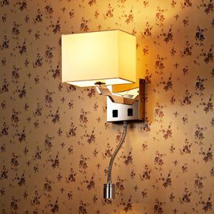 Edit Origin Wall Light with LED Reading Light