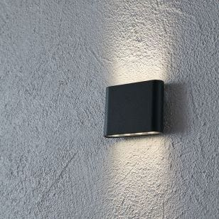 Arion LED Outdoor Up & Down Wall Light - Anthracite