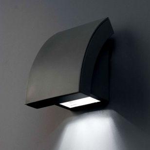 Faro Barcelona Proa Outdoor Wall Light - Dark Grey