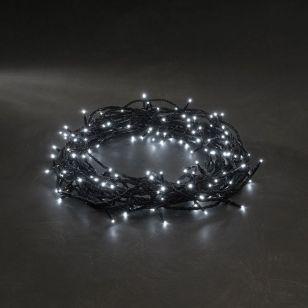 Konstsmide White Micro LED Multi-Function String Lights - 80 Lights