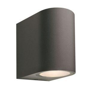 Techmar Plug and Play - Gilvus Outdoor  LED Wall Light - Anthracite