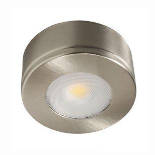 Robus Commodore Warm White LED Cabinet Light - Brushed Chrome
