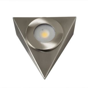 Robus Royal Warm White LED Cabinet Light - Brushed Chrome