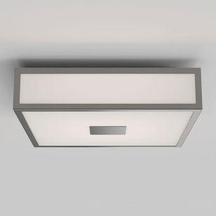 Astro Mashiko 300 Square LED Flush Ceiling Light - Matt Nickel