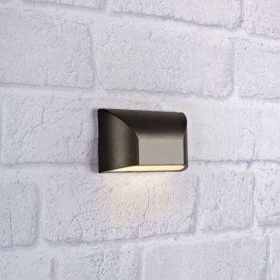 Nikos LED Outdoor Wall Light - Dark Grey
