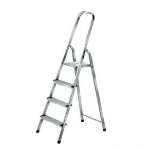 4 Step Aluminium Ladder