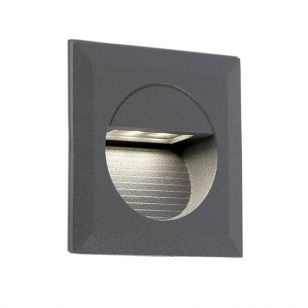 Faro Barcelona Mini Carter LED Outdoor Wall Light - Dark Grey