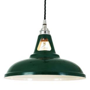 Mullan Vienna Ceiling Pendant Light - Racing Green
