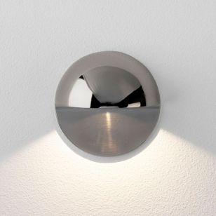 Astro Coastal Tivola LED Outdoor Wall Light - Polished Nickel