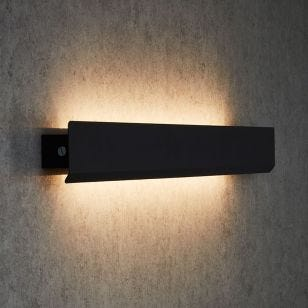 Edit Wing LED Up & Down Wall Light - Grey