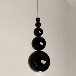 Bubble Ceiling Pendant Light - Black