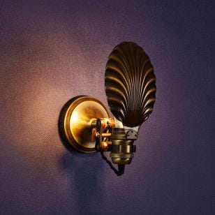 Edit Coral Wall Light - Antique Brass