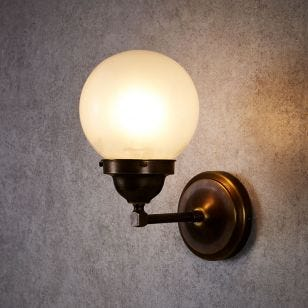 Edit Victoria Wall Light - Antique Brass