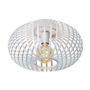 Lucide Manuela Flush Ceiling Light - White