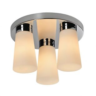 Edit Aqua 3 Light Flush Ceiling Light