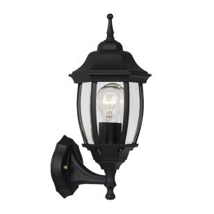 Lucide Tireno Outdoor Lantern Wall Light - Black