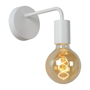 Lucide Scott Wall Light - White