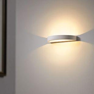 Edit Sleek LED Plaster Up & Down Wall Light