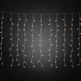 Konstsmide Warm White LED Cherry Curtain String Lights - 200 Lights