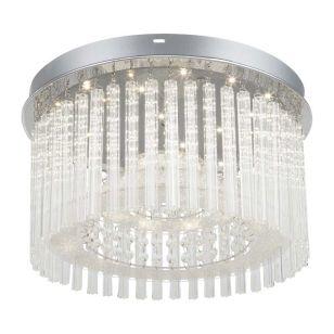 Edit Pearl LED Flush Ceiling Light - Chrome