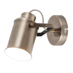 Edit Hayward Single Spotlight - Antique Bronze