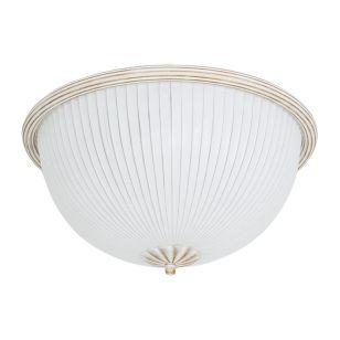 Edit Tycoon Flush Ceiling Light - White