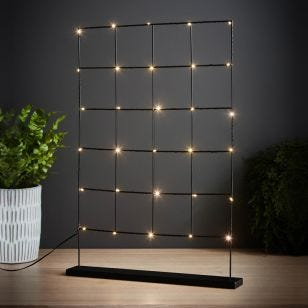 Edit Mary LED Photograph Display Grid with Plug
