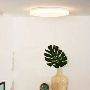 Lucide Otis 39 LED Flush Ceiling Light - Opal
