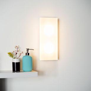 Lucide Winx LED Flush Wall Light - Opal