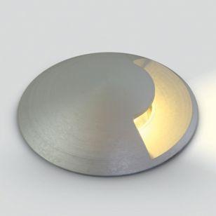 Rise LED Ground Light - Aluminium