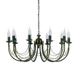 Edit Chateau 10 Light Chandelier - Aged Gold