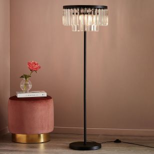 Ventimiglia Floor Lamp - Black