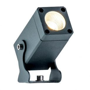 Edit Ash LED Outdoor Wall Mounted Spotlight - Dark Grey