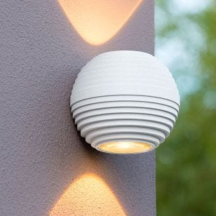 Lucide Ayo LED Outdoor Up & Down Wall Light - White