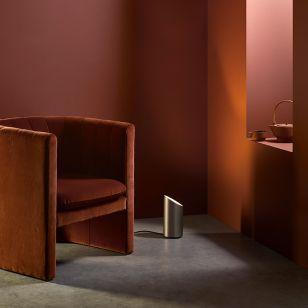 Astro Cut Floor Uplighter - Bronze