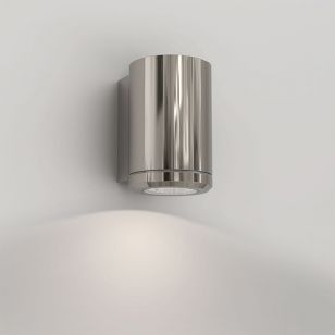 Astro Jura Outdoor Wall Light - Polished Nickel