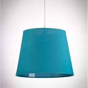 Edit Taper Lamp Shade - Teal Blue