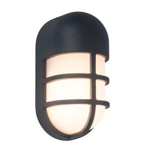 Bullo LED Outdoor Flush Wall Light - Dark Grey