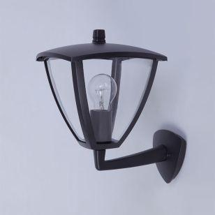 Edit London Outdoor Lantern Wall Light - Black
